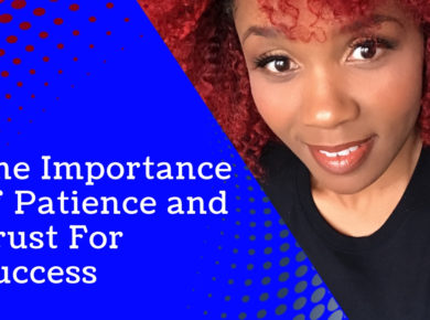 Shalita Heard Life coach business coach for black women in business success trust patience